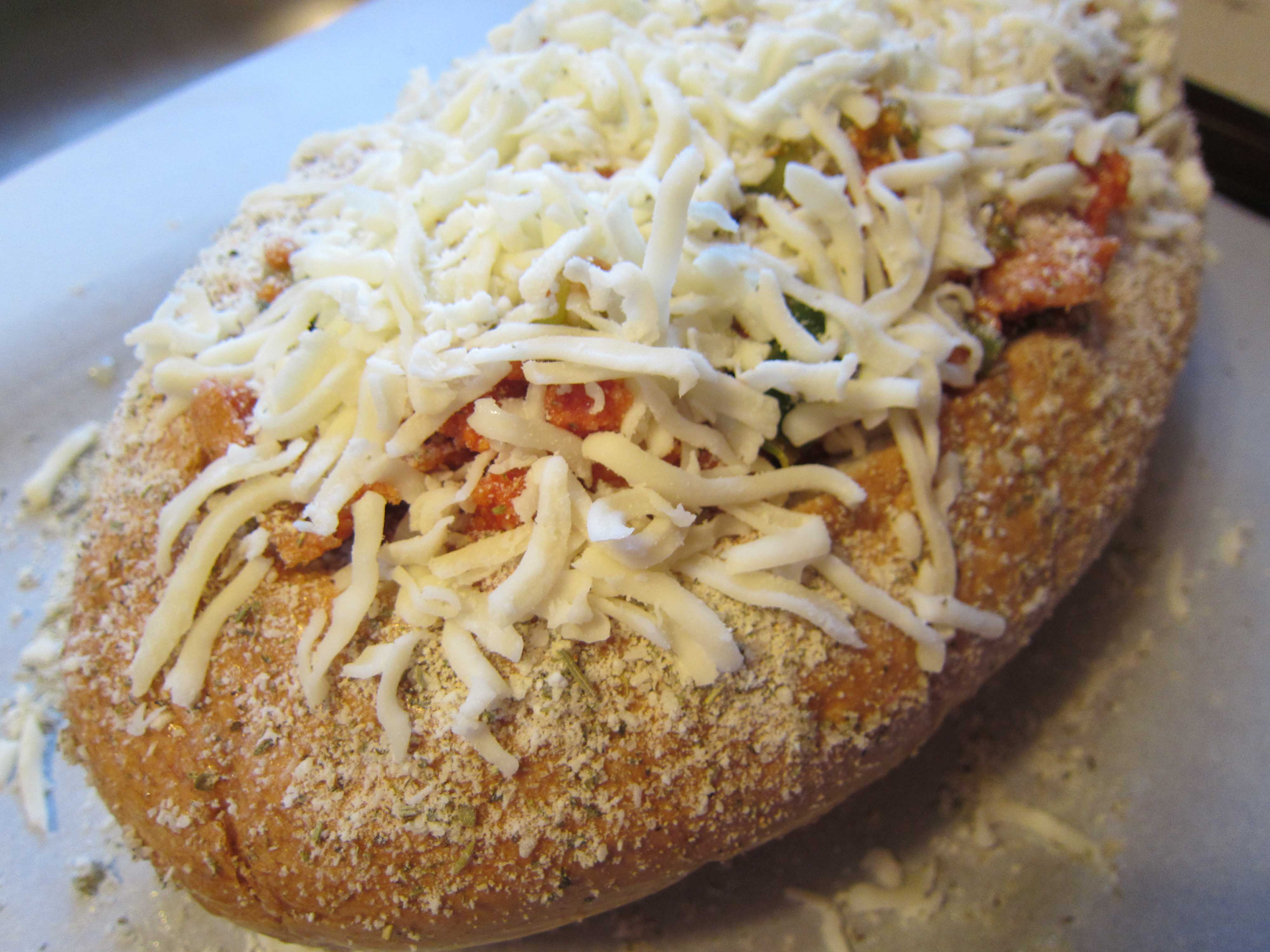 Pizza Stuffed Bread |