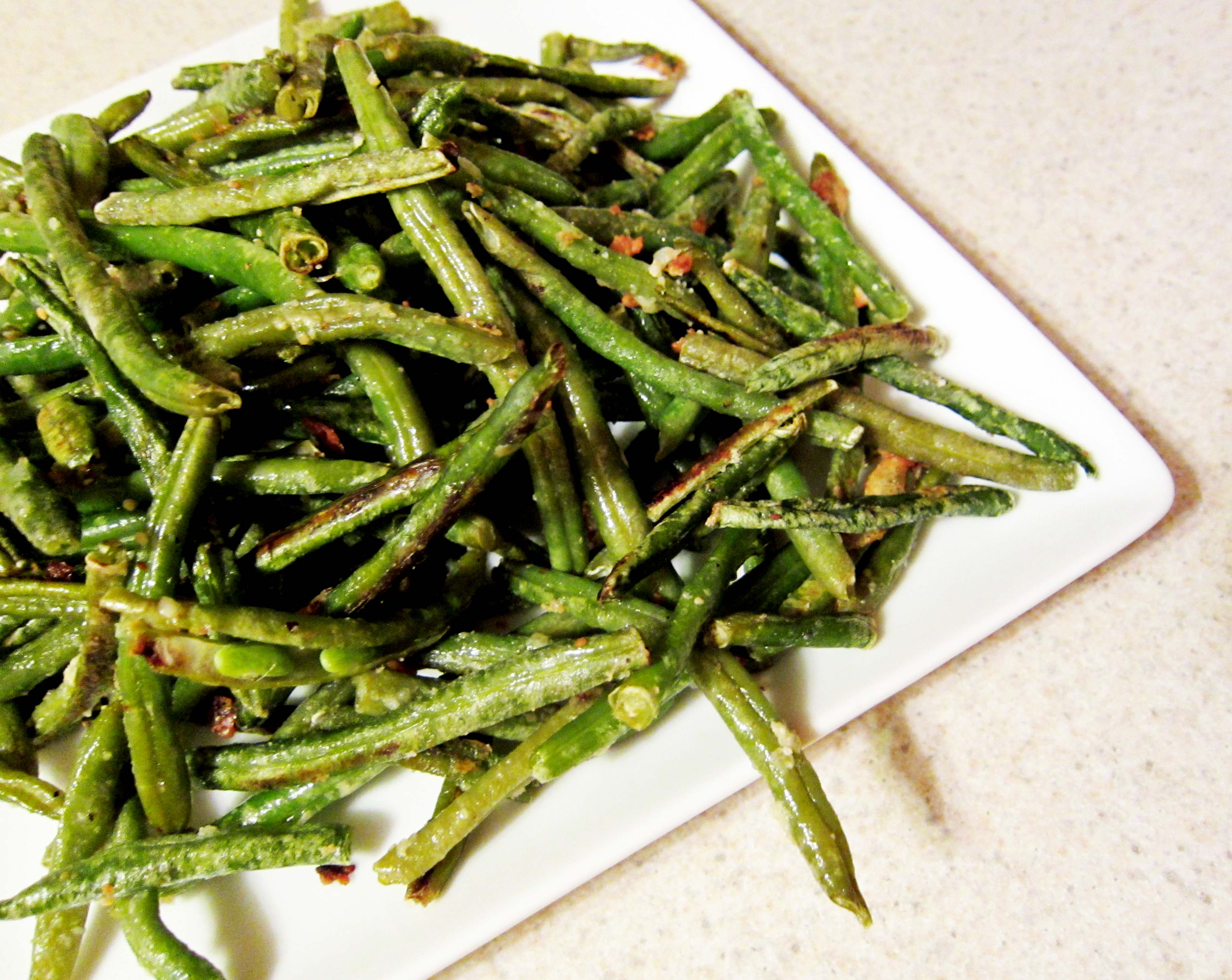 Roasted Green Beans with Lemon and Parmesan--simple, healthy and ...